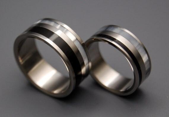 wedding rings, titanium rings, wood rings, mens rings, Titanium Wedding Bands, Eco-Friendly Wedding Rings, Wedding Rings - FORTRESS