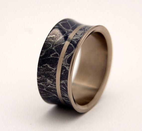 Wedding rings, titanium rings, M3 rings, mens rings, Titanium Wedding Bands, Eco-Friendly Wedding Rings, Wedding Rings - INTO THIS UNIVERSE