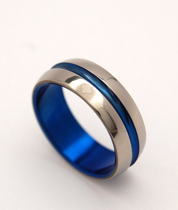blue wedding rings wedding design ideas