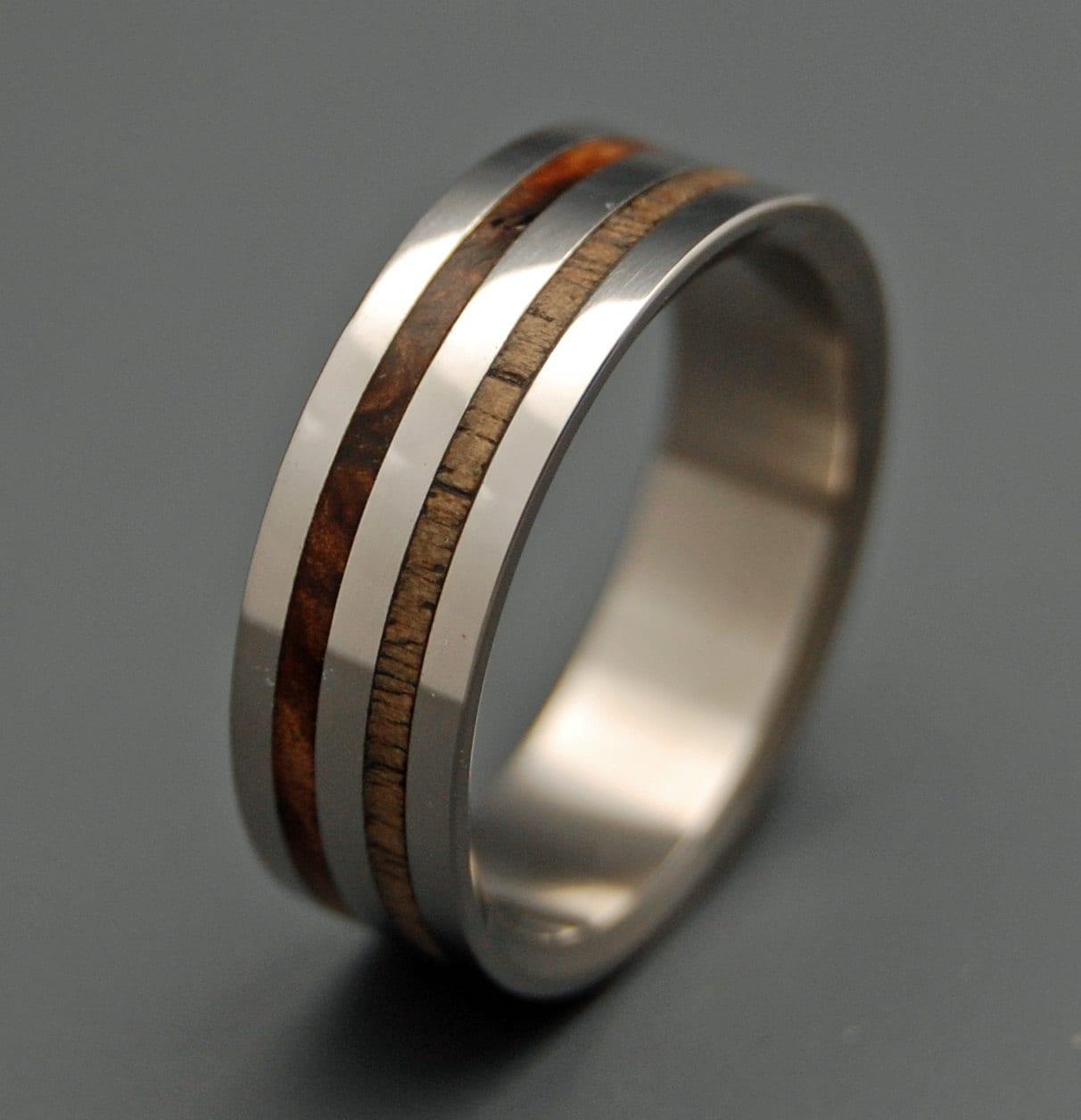 Wooden Wedding Rings Unique Wedding Rings Mens Rings Womens