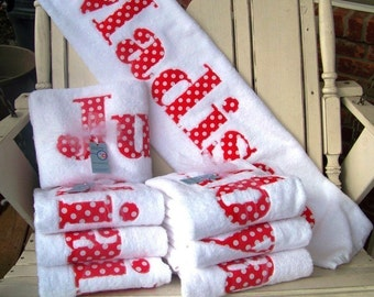 Towels-A Great Gift for The Whole Family-Personalized Towels Brothers Sisters Moms and Dads
