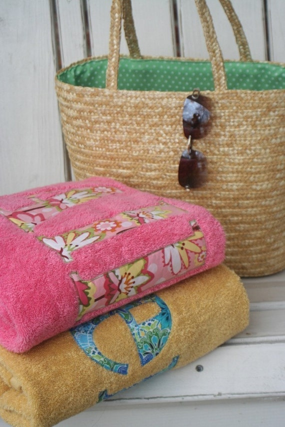 The Perfect Gift for the Whole Family-Personalized Towels for Beach or Bath-Featured on HGTV