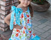Girl Dinosaur Summer Dress
