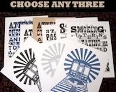 DISCOUNT CTA Bundle: 3 CTA Announcement Prints