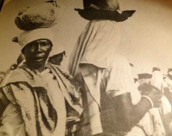 Luanda Portuguese Book Lithographs Color Illus Icons Angola African Ethnic RARE
