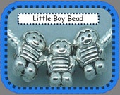 Little Boy Charm - Fits European Style Bracelets
