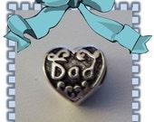 DAD Bead - Fits European Style Bracelets