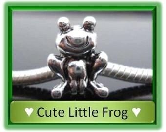 Little Frog Bead - Fits European Style Bracelets