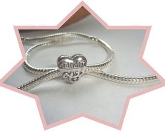 Grandma Charm - Fits European Style Bracelets