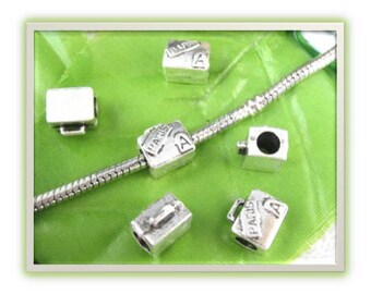 Paris Suitcase Bead - Fits European Style Bracelets