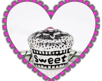 SWEET 16 Bead - Fits European Style Bracelets