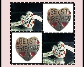 BEST Friend Bead - Fits European Style Bracelets
