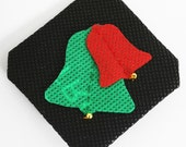 Christmas Bells design Brooch