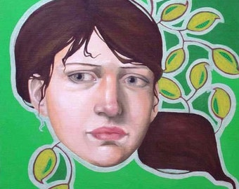 Oil Painting - Corrine