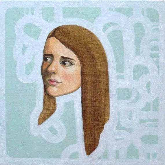SALE Oil Painting - Sally