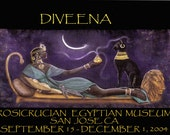 Egyptian Goddess Bast Rosicrucian Museum Poster