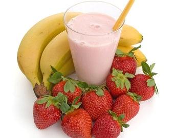Shea Mango Lip Butter-Strawberry Banana