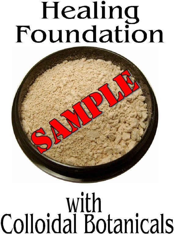 SAMPLE-Healing Mineral Foundation with Pure Colloidal Botanicals