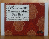 Moroccan Mud Spa Bar - Handmade Natural Aromatherapy Soap