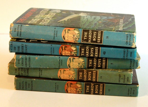 Instant Collection of Vintage 1960s The Hardy Boys The Mystery Books treasury item