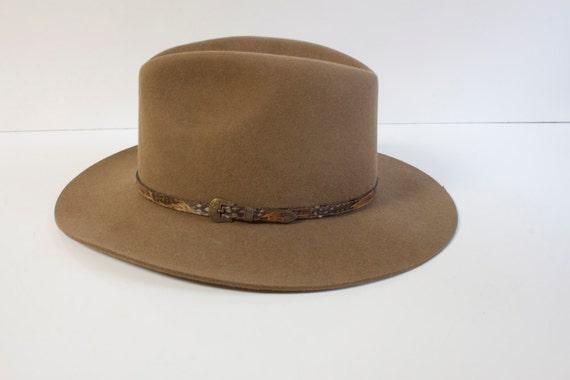Vintage Unisex Outback Fur felt Hat