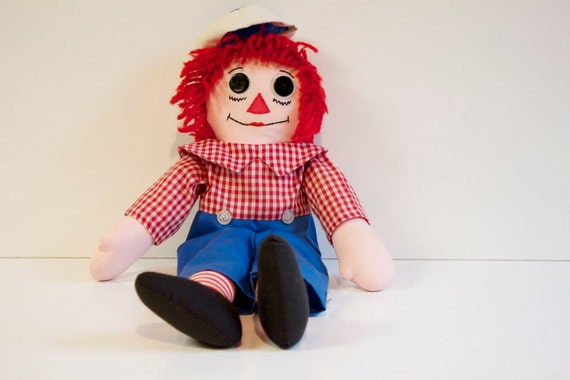 Vintage Raggedy Andy 20 inches
