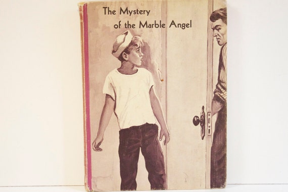 Vintage 1962 The Mystery of the Marble Angel First Edition Book
