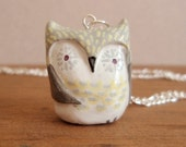 little owl pendant necklace