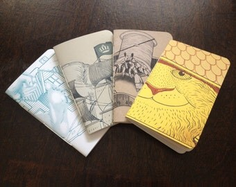 Misprint sketchbook/ notebook