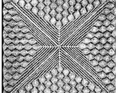 Vintage lace Weldon's Knitted lace and d'oyleys doily 1937 set 1 PDF format