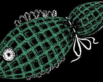 Crochet soap saver Fish Soap Holder PDF pattern 1953