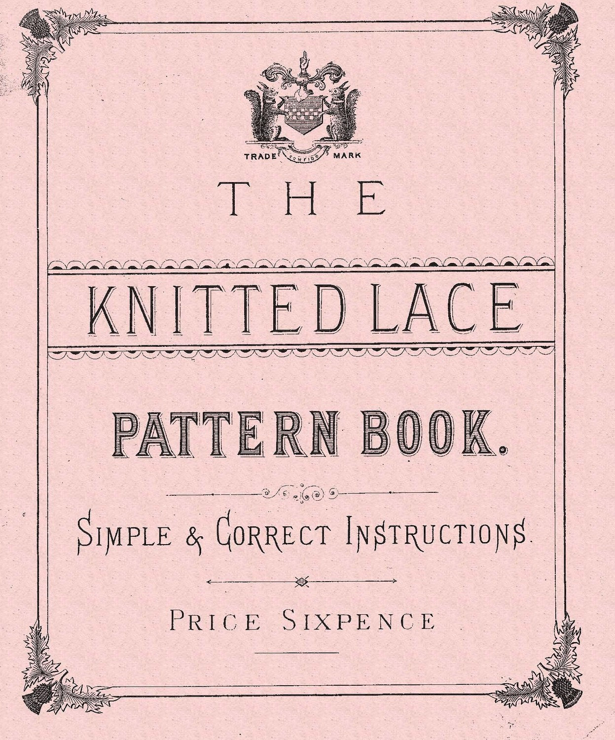 Knitting Pattern Book : Knitted lace patterns The Knitted Lace Pattern Book. C & W
