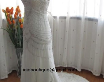 Exquisit Sheath Princess Wedding Dress