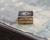 Tiny Victorian Treasure Box Locket