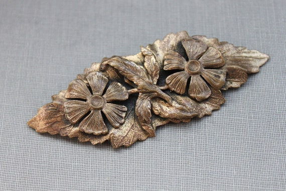 Antique Kandell & Marcus NY Spring Flower Brooch
