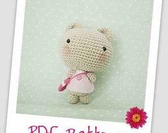 Instant Download Crochet Pattern Amigurumi Bear