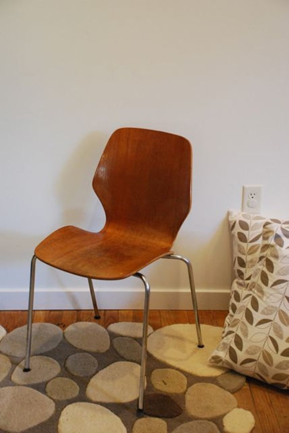 Mid Century Westnofa Bentwood Chair