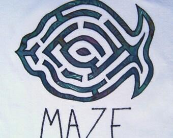 Phish inspired  Tshirt MAZE Organic Cotton
