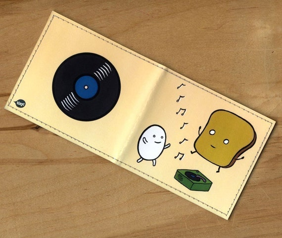Music Time wallet - Dan Goodsell for Tinymeat