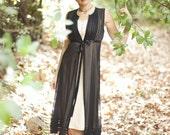 Beautiful black silk dress