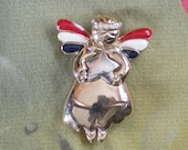Vintage Angel Brooch