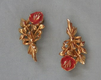 Vintage Rose Flower Scatter Pins Free Shipping for USA