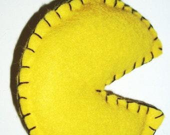 Mr Yellow - Pacman inspired retro ornament
