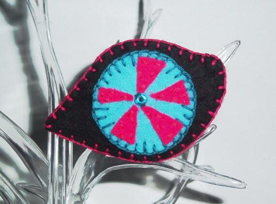 SALE - Third Eye Brooch