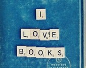 I Love Books, Vol. 2 4x6 Fine Art Print, Signed