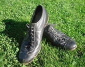 Circa 1940s Vintage Baseball Cleats PRICE REDUCTION