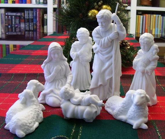 Avon Nativity Porcelain Collectibles 1981 1983