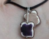 Blackberry PBJ necklace
