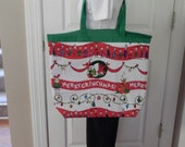 Merry Grinchmas Tote not a licensed product