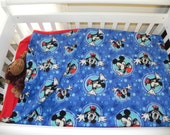 Mickey Mouse inspired Fleece Sleep Sack not a licensed product